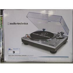 AUDIO-TECHNICA DIRECT-DRIVE PROFESSIONAL TURNTABLE