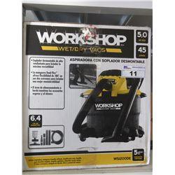 WORKSHOP WET/DRY 45L VAC