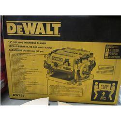 "DEWALT 13"" THICKNESS PLANER MODEL DW735"