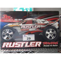 TRAXXAS READY-TO-RACE RUSTLER 35+ MPH RC CAR