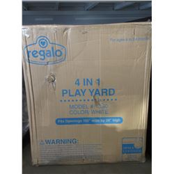 "REGALO 4-IN-1 PLAY YARD 192 X 28"""