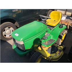JOHN DEERE GX255 RIDE ON LAWN MOWER
