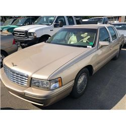 1998 CADILLAC DEVILLE, 4 DOOR SEDAN, BROWN, GAS, AUTOMATIC, VIN#1G6KE54YXWU795053, 123,947KMS,