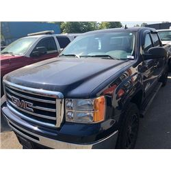 2012 GMC SIERRA NEVADA EDITION, EXTENDED CAB PICKUP, GAS, AUTOMATIC, VIN#3GTP1UEA8CG160891,