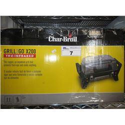 CHAR-BROIL GRILL-2-GO X200 TRU-INFRARED BBQ