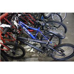 BLACK TRAPPER XG BMX BIKE