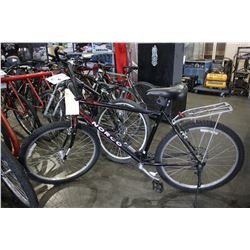 BLACK AND RED NORCO 7 SPEED MOUNTAIN BIKE