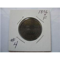 1876H Canadian Large Cent