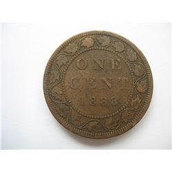 1888 Canadian Large Cent