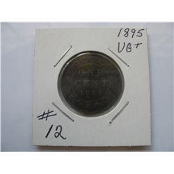 1895 Canadian Large Cent
