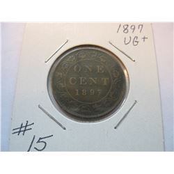1897 Canadian Large Cent