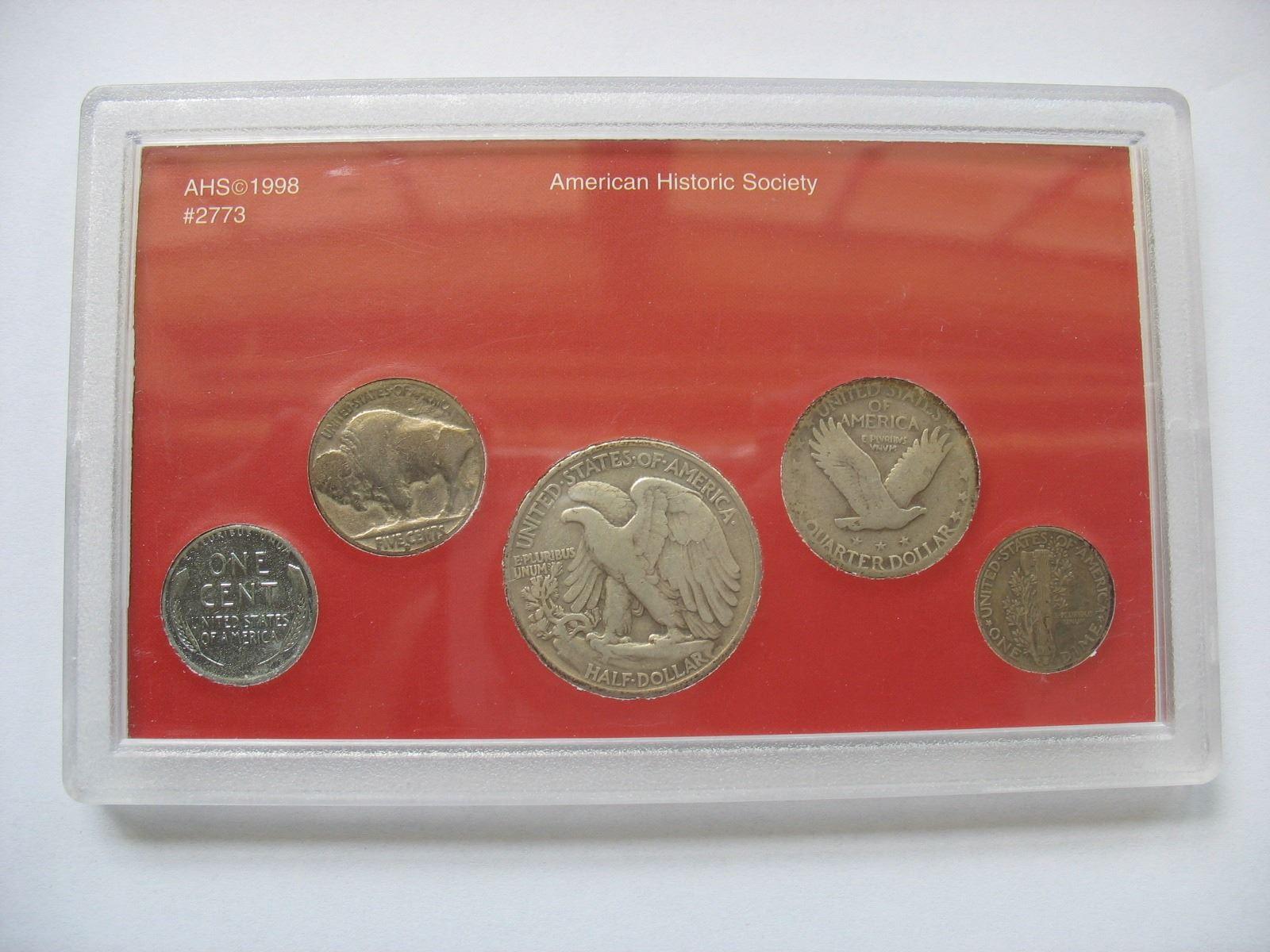 U S  Set - Vanishing Classics - Penny to Half Dollar Set