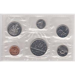 1987 ROYAL CANADIAN MINT COINS SET