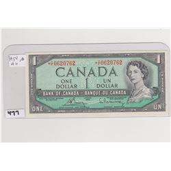 1954 AU DOLLAR BILL