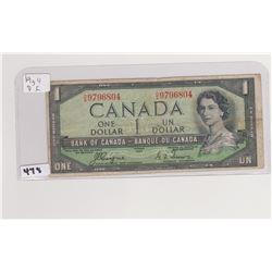 1954 DL DOLLAR BILL