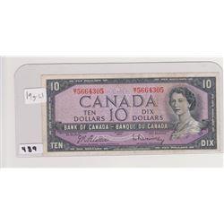 1957 10 DOLLAR BILL