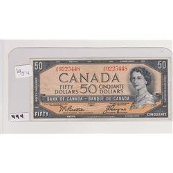 1954 50 DOLLAR BILL