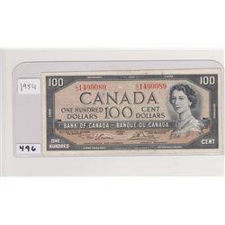 1954 100 DOLLAR BILL