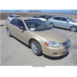 2001 - DODGE STRATUS // PARTS ONLY