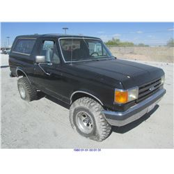 1990 - FORD BRONCO