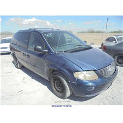 2001 - CHRYSLER TOWN AND COUNTRY // REBUILT SALVAGE