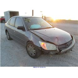 2004 - HONDA CIVIC // REBUILT SALVAGE