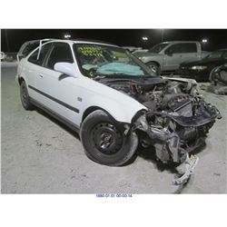 1998 - HONDA CIVIC EX // REBUILT SALVAGE