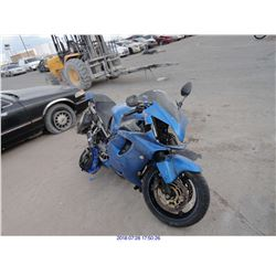 2005 - HONDA CBR600 // REBUILT SALVAGE // FLOOD DAMAGE