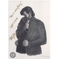 100, The - Abby and Kane Art Print Signed by Paige Turco