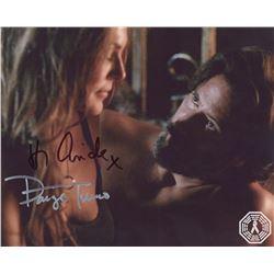 100, The - Abby/Kane Photo Signed by Paige Turco & Henry Ian Cusick
