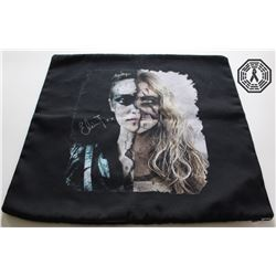100, The - Clarke/Lexa Pillowcase Signed by Eliza Taylor