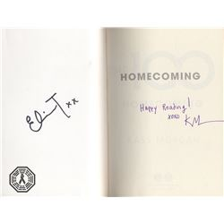 "100, The - ""Homecoming"" Paperback Book Signed by E. Taylor & Author K. Morgan"