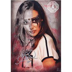 100, The - Lexa/Alycia Art Print Signed by Alycia Debnam-Carey