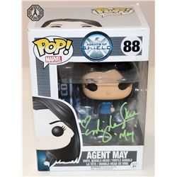 Agents of S.H.I.E.L.D. Agent May Funko Pop! Signed by Ming-Na Wen