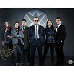 Agents of S.H.I.E.L.D. Group Photo Signed by Chloe Bennet