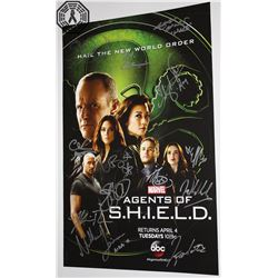 Agents of S.H.I.E.L.D. WonderCon 2017 Poster Signed by 13 Cast/Creative Team