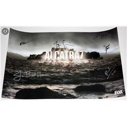 Alcatraz WonderCon 2012 Mini Poster Signed by 6 Cast/Creative Team