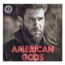 American Gods Mad Sweeney Photo Signed by Pablo Schreiber