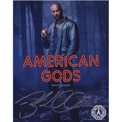 American Gods Shadow Moon Photo Signed by Ricky Whittle