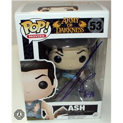 Army of Darkness Ash Funko Pop! Signed by Bruce Campbell