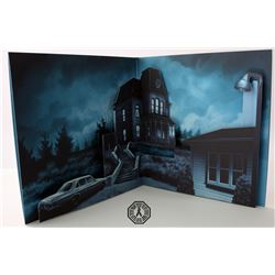 Bates Motel DVD Signed by F. Highmore & Collector's Ed. Vinyl Soundtrack