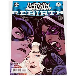 Batgirl and the Birds of Prey Comic Signed by Writers Julie & Shawna Benson