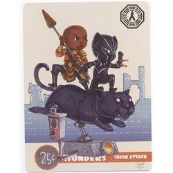 Black Panther Mini Art Print Set (4)