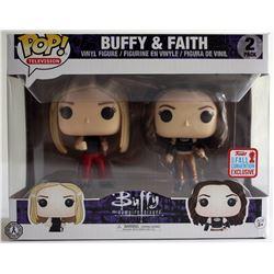 Buffy the Vampire Slayer (TV) Buffy & Faith Pop! Set + Anya Action Figure Set
