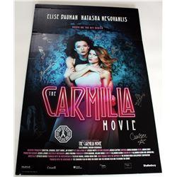 Carmilla Movie, The - Premiere Foam Core Poster Signed by 9 Cast