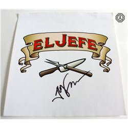 Chef Movie Decal Signed by Writer/Director/Star Jon Favreau