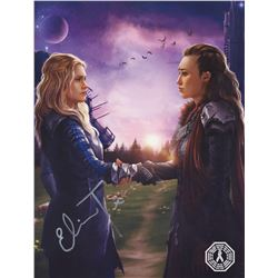 Clexa Fan Art Book Signed by Eliza Taylor (The 100)