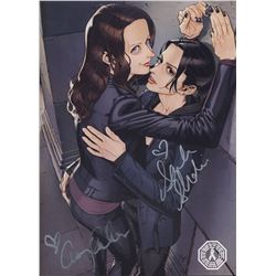 ClexaCon Fan Art Book Signed by A. Acker & S. Shahi (Person of Interest)