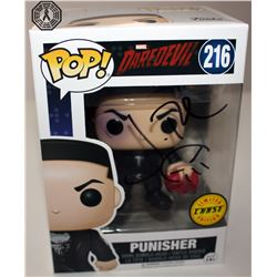 Daredevil Punisher (Limited Ed.) Funko Pop! Signed by J. Bernthal + Beanie