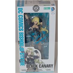 DC Comics Kotobukiya Black Canary Bishoujo Statue Signed by Caity Lotz